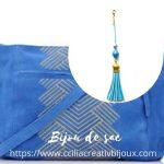 bijou de sac turquoise