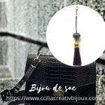 bijoux de sac noir