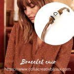 bracelet cuir signe zodiaque