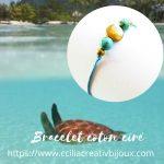 bracelet des îles turquoises