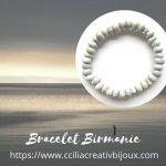 bracelet graines de Birmanie