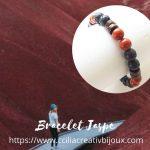 bracelet japse rouge