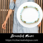 bracelet moiré