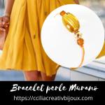 bracelet perle murano