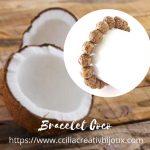 bracelet perles coco