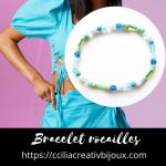 bracelet perles rocailles