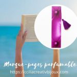 marques-pages parfumable