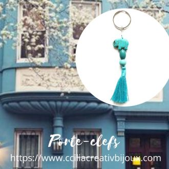 porte-clefs pampille