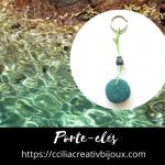 porte-clefs pelote d'algues