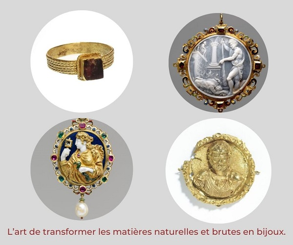 l'art de transformer les matières naturelles et brutes en bijoux