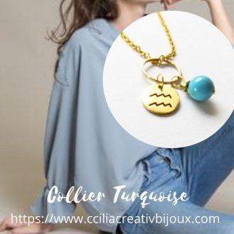 collier princesse verseau