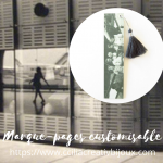marque-pages personnalisable