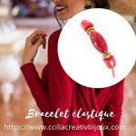 bracelet à perles