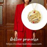 collier princesse poisson