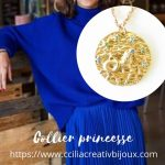 collier princesse capricorne