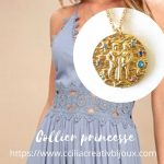 collier princesse gémeaux