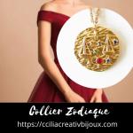 collier zodiaque balance