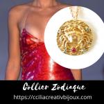 collier zodiaque cancer