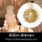 collier zodiaque lion
