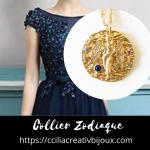 collier zodiaque vierge