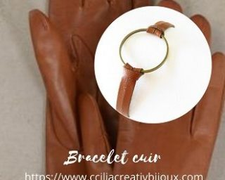 bracelet cuir bijoux