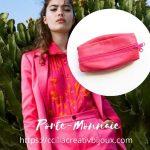 porte-monnaie rose