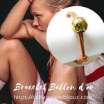 bracelet ballon d'or