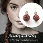 boucles d'oreilles bouddha