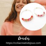 créoles multi-perles