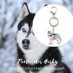 porte-clés husky