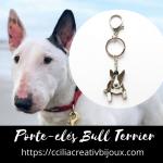 porte-clés bull terrier
